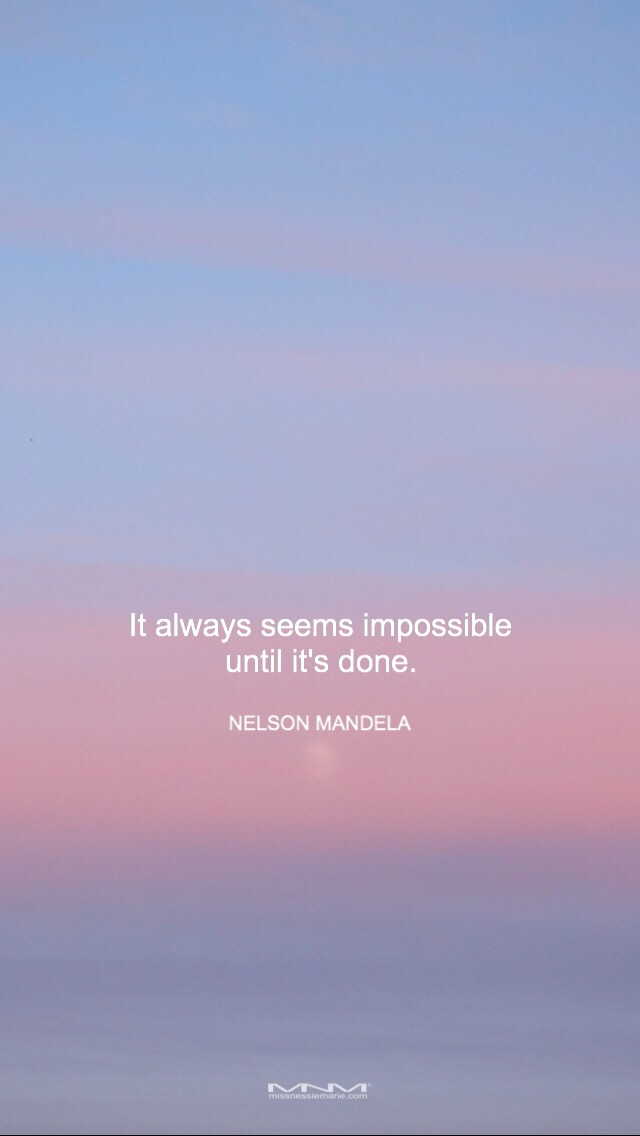 Free Wallpaper Nelson Mandela Quote Missnessiemarie Miss Nessie Marie